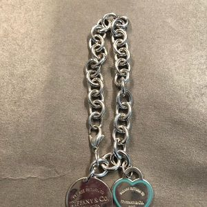 Tiffany & Co bracelet w/charms